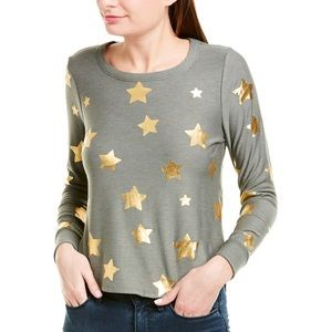 NWT Chaser Gold Star Pullover